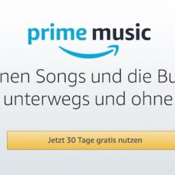 amazon prime music abonnement
