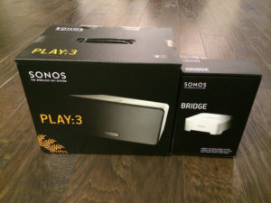 smarthomesystem sonos play3 verpackung