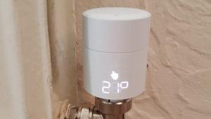 smarthomesystemtado thermostat eingebaut.