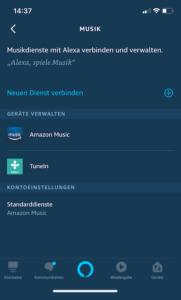 Apple Music mit Alexa verbinden